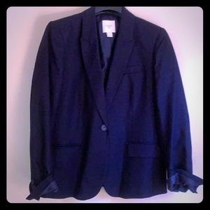 J. Crew Navy Suit Jacket